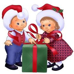 Пазл онлайн: Подарок на Рождество