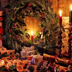 Пазл онлайн: С Рождеством !