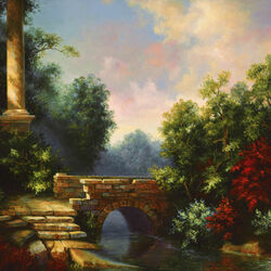 Пазл онлайн: Каменный мост