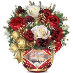 Пазл онлайн: Праздничный букет