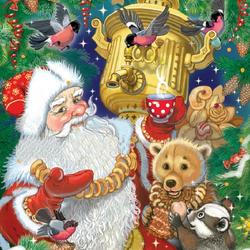 Пазл онлайн: Угощенье Новогоднее
