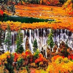 Пазл онлайн: Национальный парк Цзючжайгоу