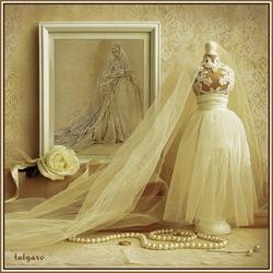 Пазл онлайн: Свадебный