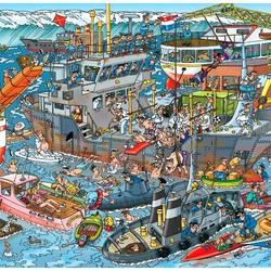 Пазл онлайн: Морской порт