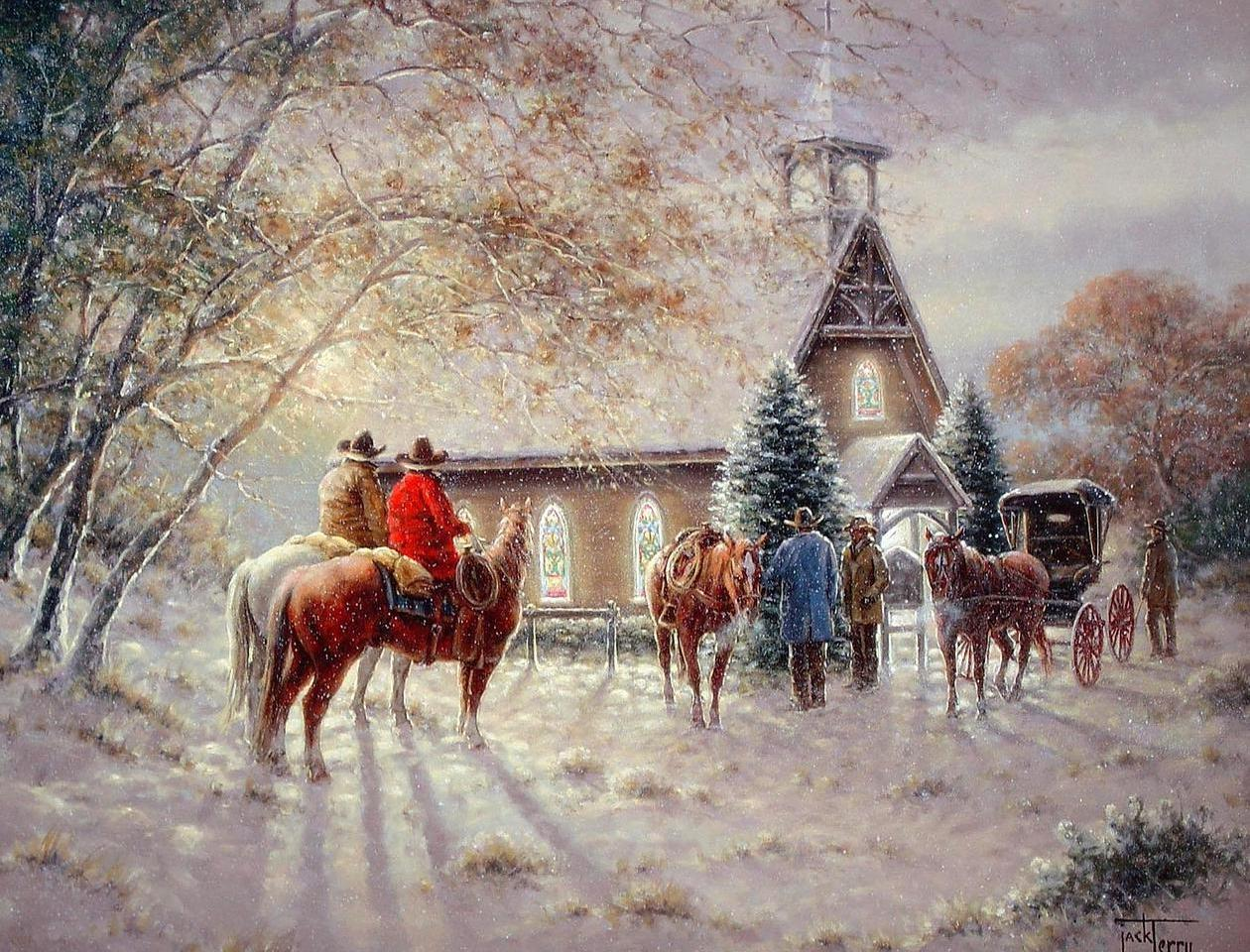 Old fashioned country christmas 9