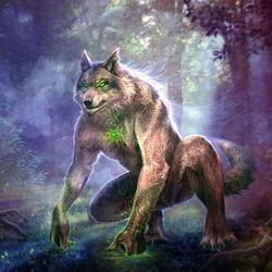 Пазл онлайн: Славянская мифология: волколак