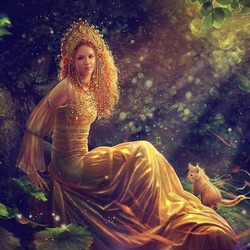 Пазл онлайн: Славянская мифология: Злата Майя