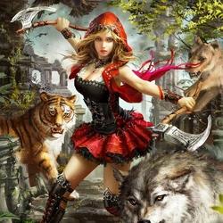 Пазл онлайн: Королева зверей Фелиция