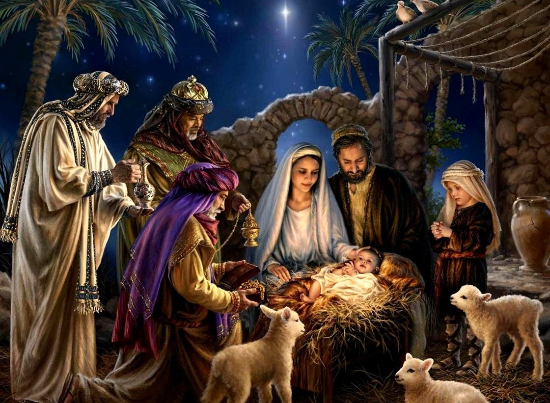 Картинка с днем рождения иисус