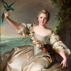 Пазл онлайн: Портрет Матильды де Канизи, маркизы д'Антен