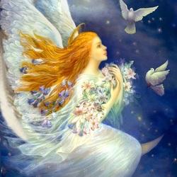 Пазл онлайн: Луннай Ангел