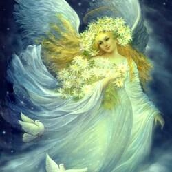 Пазл онлайн: Ангел ночи