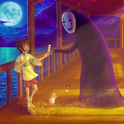 Пазл онлайн: Унесенные призраками