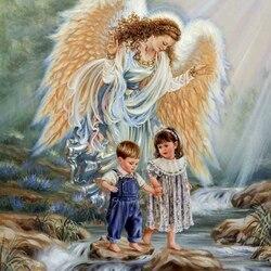 Пазл онлайн: Ангел-хранитель