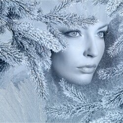 Пазл онлайн: Леди Зима