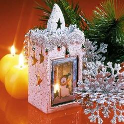 Пазл онлайн: Праздничные украшения дома