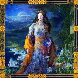 Пазл онлайн:  Исида, Богиня Вселенной