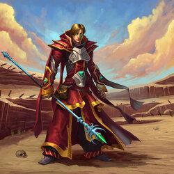 Пазл онлайн: Маг Алого Ордена