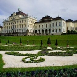 Пазл онлайн: Людвигсбургская резиденция