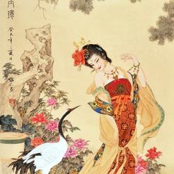 Пазл онлайн: Четыре Великие Красавицы Китая