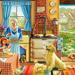 Пазл онлайн: Милый дом