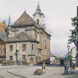 Пазл онлайн: Старая Вена