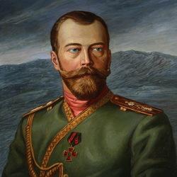 Пазл онлайн: Портрет Николая II