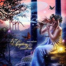 Пазл онлайн: Симфония моей любви