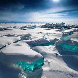 Пазл онлайн: Изумруды Байкала