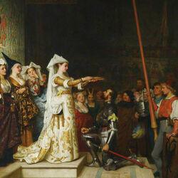 Пазл онлайн: Королева на турнире