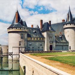 Пазл онлайн: Замок Сомюр