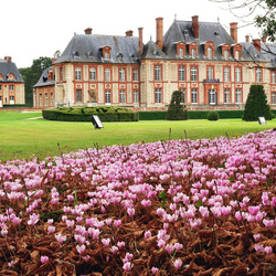 Пазл онлайн: Замок Шарля Перро (Бретей)
