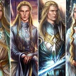 Пазл онлайн: Эльфы