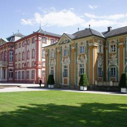 Пазл онлайн: Дворец Брухзаль (фрагмент)