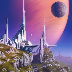 Пазл онлайн: На дальней луне