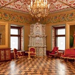 Пазл онлайн: Тронный зал дворца Юсуповых