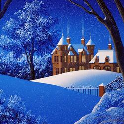 Пазл онлайн: Четыре сезона. Зима