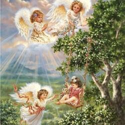 Пазл онлайн: Небесные качели