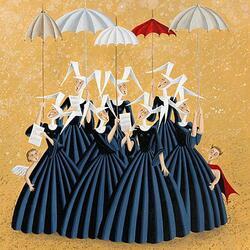 Пазл онлайн: Веселые монахини