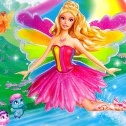 Пазл онлайн: Барби фея