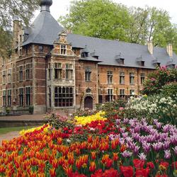 Пазл онлайн: Парк и замок комплекса  Гротбейгарден