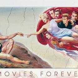 Пазл онлайн: Кино навсегда