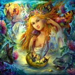 Пазл онлайн: Фея водного царства