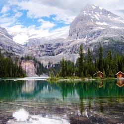 Пазл онлайн: Сказочная красота на озере O'Hara