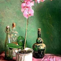Пазл онлайн: Орхидея