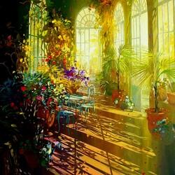 Пазл онлайн: Залитая солнцем