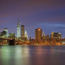 Пазл онлайн: Ночной Нью-Йорк