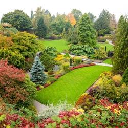 Пазл онлайн: Парк королевы Елизаветы