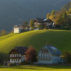 Пазл онлайн: Австрийская деревушка